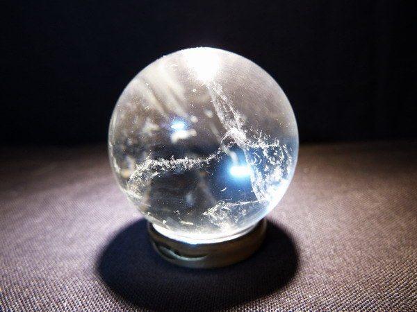 adivinar el futuro con la bola de cristal